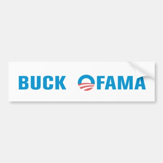 Buck Ofama Bumper Sticker