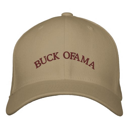 Buck Ofama Embroidered Hat