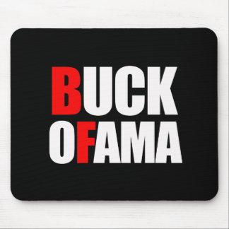 BUCK OFAMA MOUSEPADS