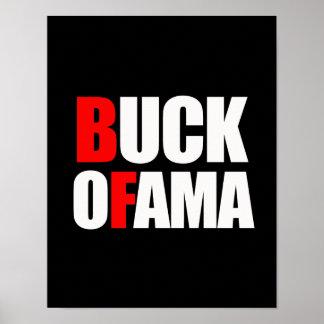 BUCK OFAMA POSTER