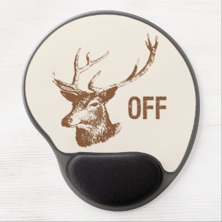 Buck Off Gel Mouse Pad