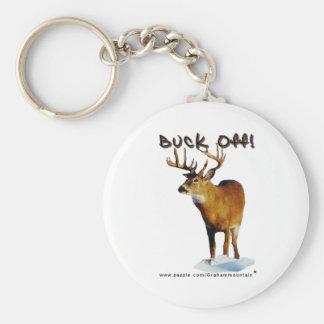 Buck Off! Keychain