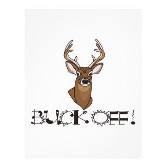 Buck Off! Letterhead