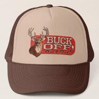Buck Off Trucker Hat