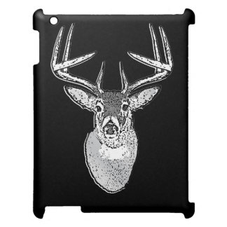 Buck on Black White Tail Deer classic iPad Case