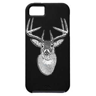 Buck on Black  White Tail Deer iPhone SE/5/5s Case