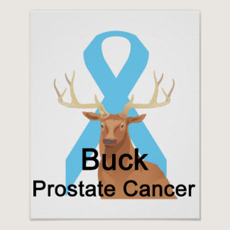 Buck Prostate-Cancer Poster