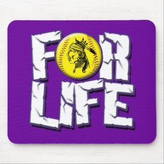Buck Softball For Life Mouse Pad