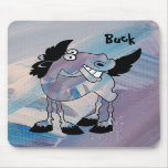 Buck the Painted Horse Mouse Pad