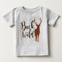 Buck Wild Kids T-Shirt Hunting Deer