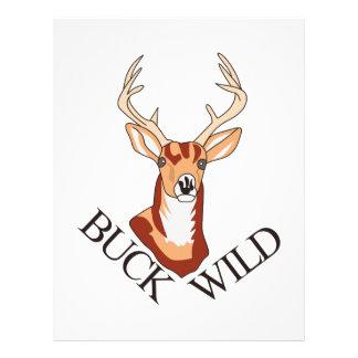 Buck Wild Letterhead