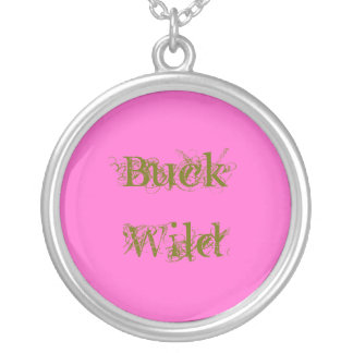Buck Wild Silver Plated Necklace