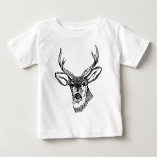 Buck with Antlers Baby T-Shirt