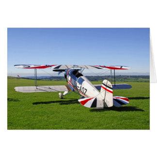 Bucker Jungmann Bi-plane Card