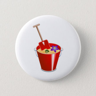 Bucket and Spade Button