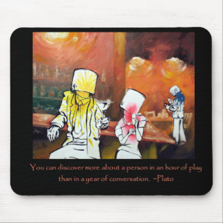 Bucket heads thoughtful inspiring quotes mouse pad
