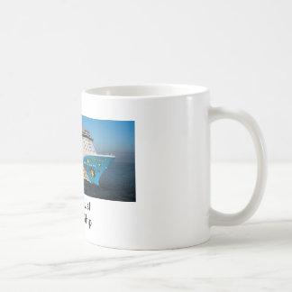 Bucket List Cruise Ship Mug