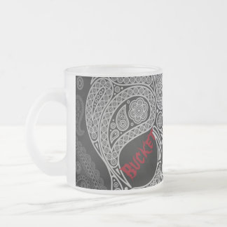 Bucket List Frosted Glass Coffee Mug