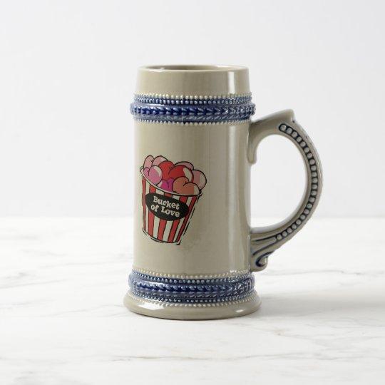 bucket of love png beer stein