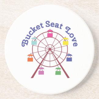 Bucket Seat Drink Coasters