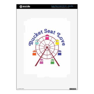 Bucket Seat Decals For iPad 3