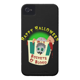 Buckets O'Blood Halloween ID iPhone 4 Case