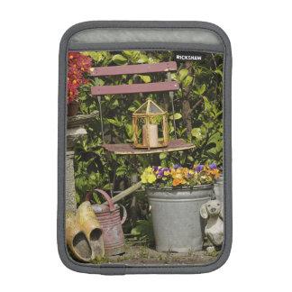 Buckets, shoes, and flowers, Zaanse Schans, iPad Mini Sleeve