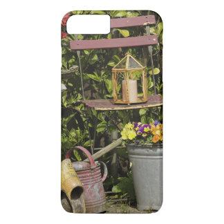 Buckets, shoes, and flowers, Zaanse Schans, iPhone 8 Plus/7 Plus Case
