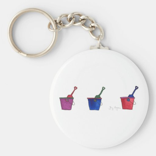 Buckets & Shovels Keychain