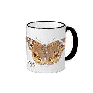 Buckeye butterfly ~ mug