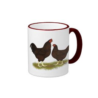 Buckeye Chickens Ringer Mug