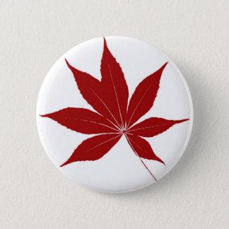 Buckeye Leaf Button