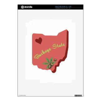 Buckeye State Decal For The iPad 2