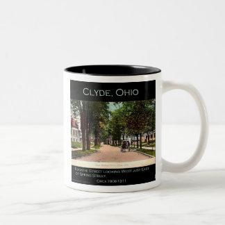 Buckeye Street Two-Tone Coffee Mug