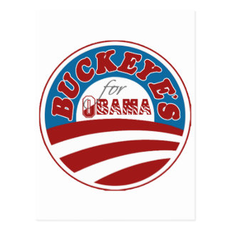Buckeyes for Obama Postcard
