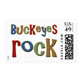 Buckeyes Rock Stamps