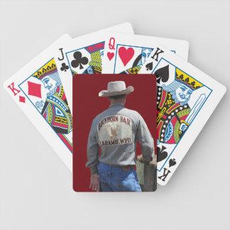 Buckhorn Bar Cowboy Playing Cards