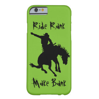 Bucking Bronc Riding Rodeo Cowboy Ride Rank Case