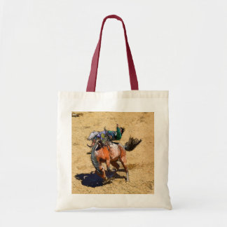 Bucking Bronco and Rodeo Cowboy #Gift Tote Bag