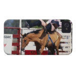 BUCKING BRONCO AT RODEO 3 iPhone 4 CASES