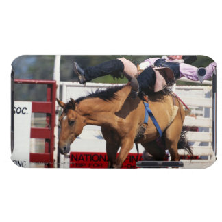 BUCKING BRONCO AT RODEO 3 iPod TOUCH CASE