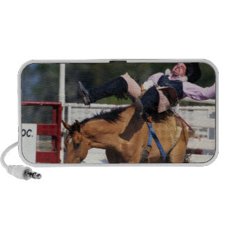 BUCKING BRONCO AT RODEO 3 MP3 SPEAKERS