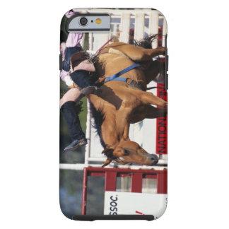 BUCKING BRONCO AT RODEO 3 TOUGH iPhone 6 CASE