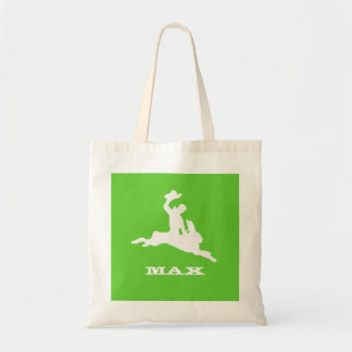 Bucking Bronco Bunny Budget Tote Bag