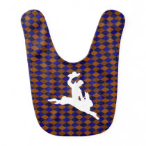 Bucking Bronco Bunny Bib
