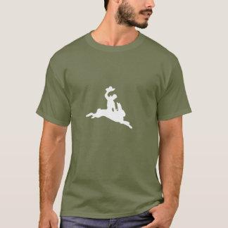 Bucking Bronco Bunny T-Shirt