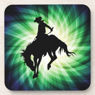 Bucking Bronco; Rodeo; Cool Beverage Coaster