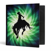 Bucking Bronco; Rodeo; Cool Binder