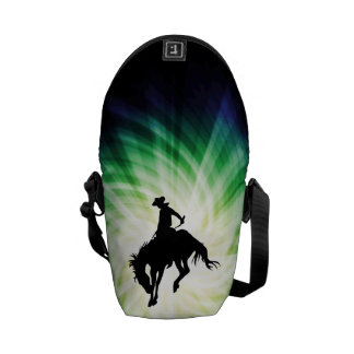 Bucking Bronco; Rodeo; Cool Courier Bag