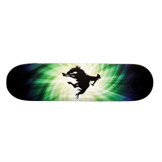 Bucking Bronco; Rodeo; Cool Custom Skate Board